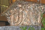 Ambo Buchablage: Bronzearbeiten, 1990, Ferdinand Starmann, Neuenkirchen (Foto: E.Valerius)