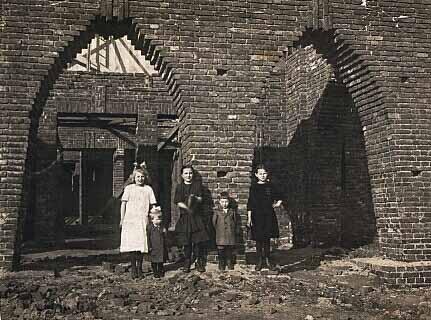 Schutzengelkirche-Rohbau (Archivfoto unbekannt ca 1923)