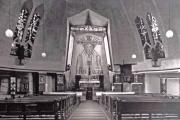 Altarraum mit Hochaltar ca 1935 (Archivfoto unbekannt)