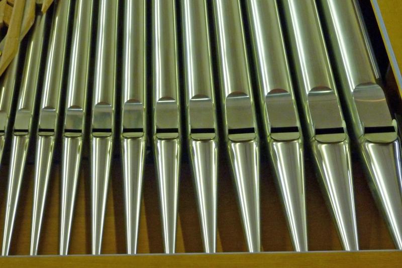 Orgel-Detail: Pfeifen (Foto: E.Valerius)