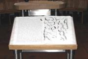 Josefskapelle, Bibel von Hein Bücker (Foto: E.Valerius)