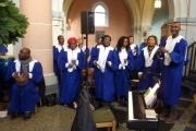2016-11-27_15, eine musikalische Zugabe, flotte Rhythmen des Gospelchores